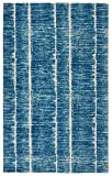 """Rugsmith"""" Tango Modern Area Rug, 5'6″ x 8'6″, Blue Review"""
