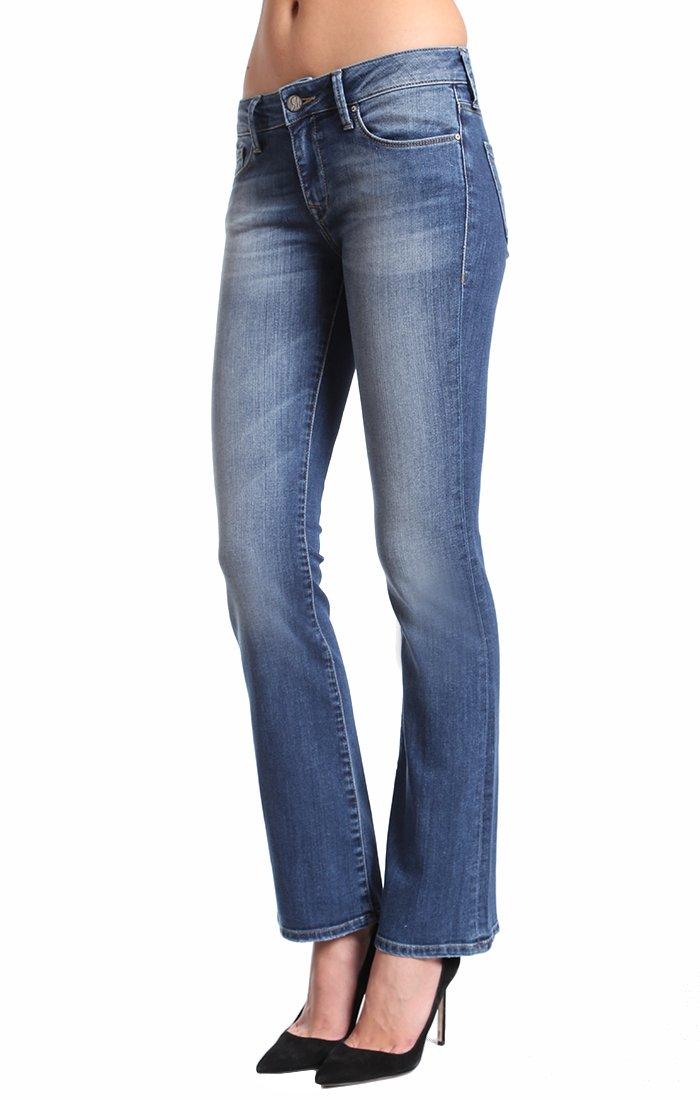 Mavi Jeans Women's Petite Ashley Petite Mid Tribeca, Mid Tribeca, 25P