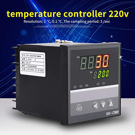 Digital Temperature Controller with Relay Output