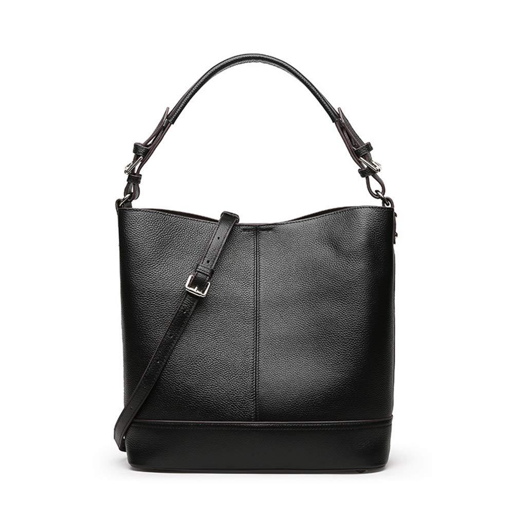 女性の2 IN 1ショルダーバッグ付きクラッチバッグデザイナーショッパーバッグ学校の休日のためのハンドバッグ (Color : Black)  Black B07MX5D17Y