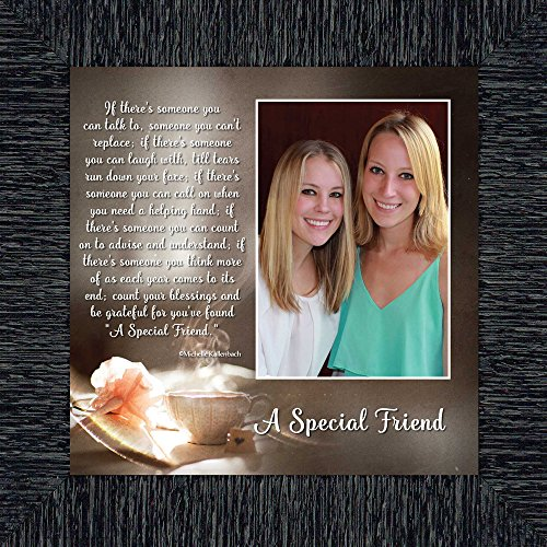 A Special Friend, Birthday Gift for Best Friend, Personized Picture Frame for Your Forever Best Friend, 10x10 6375CH by Personally Yours