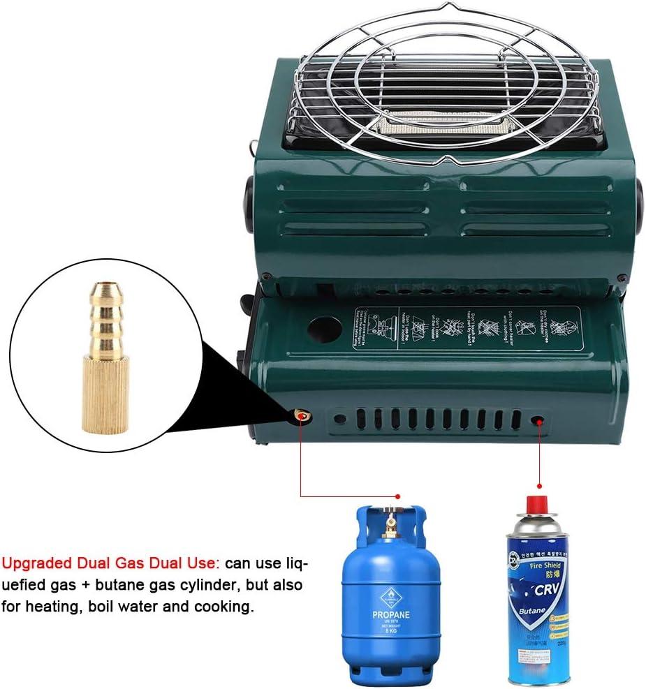 Estufa de Gas para Camping, Calentador de Gas, Calentador de ...
