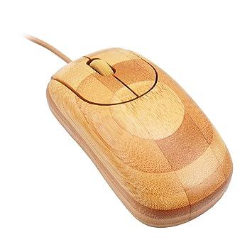Bambus Optische Maus Kabelgebunden Amazon De Computer Zubehor