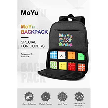 Alician Fashion Backpack for Magic Puzzle Cube Storage