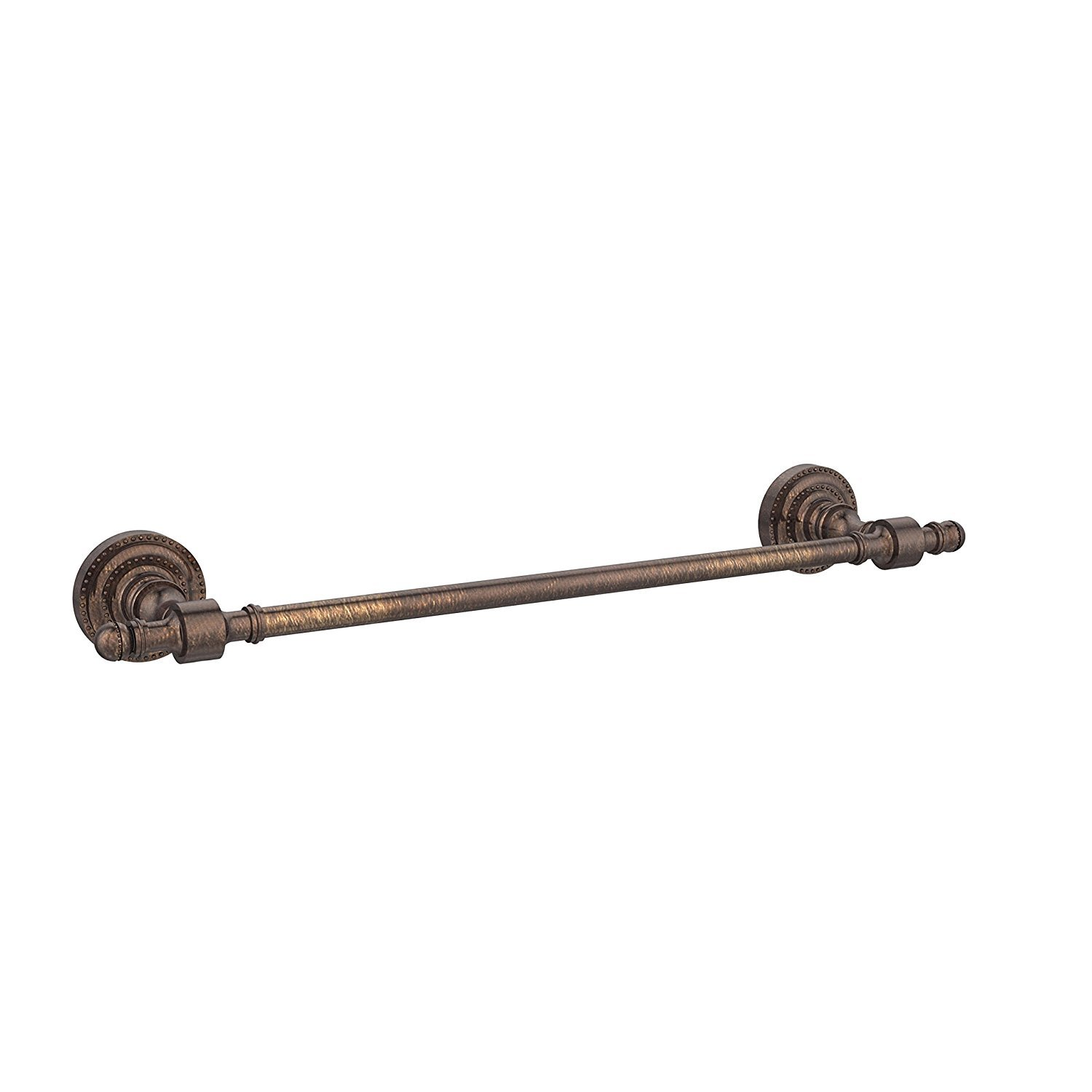 "Allied Brass RD-3/18-BBR Retro Dot Collection 18 Inch Beaded Refrigerator Pull 18"" Brushed Bronze"