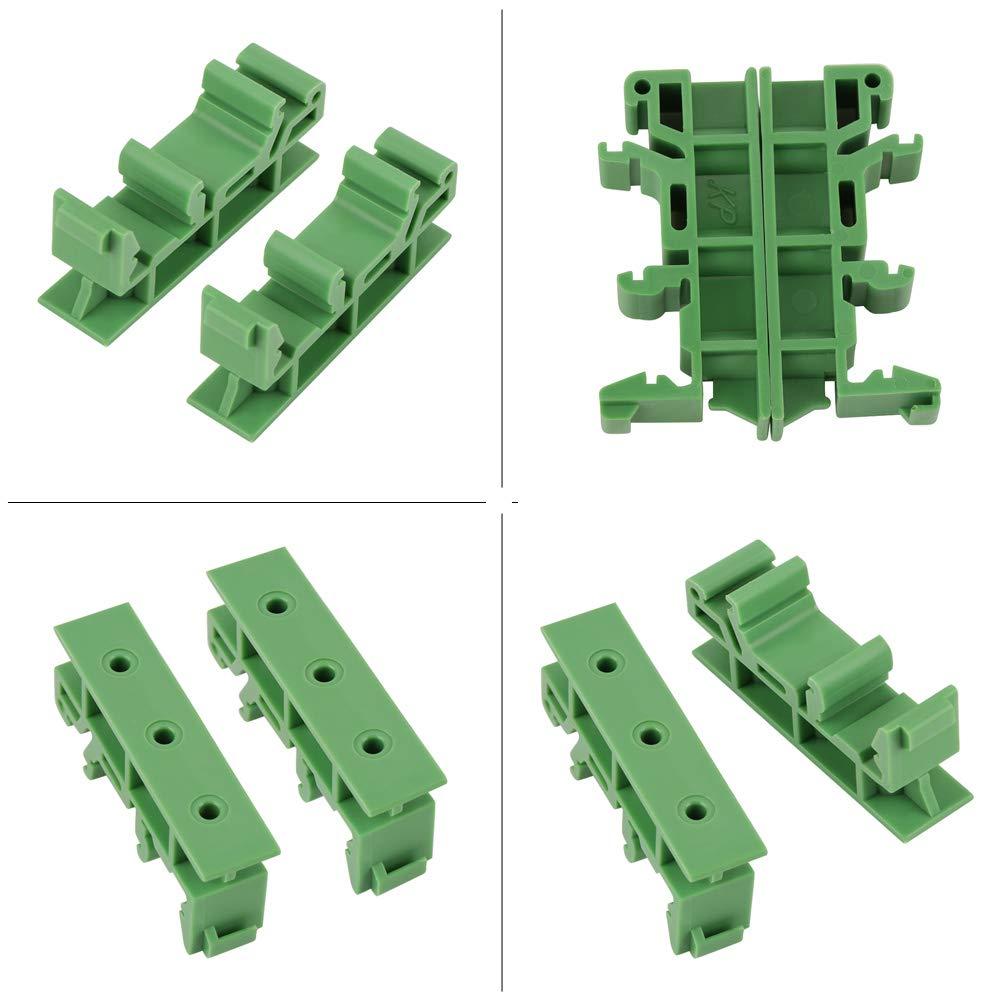 10sets PCB DIN C45 Rail Adaptateur Support de Support de Carte Support de Support Support de Support de Support Support 35mm