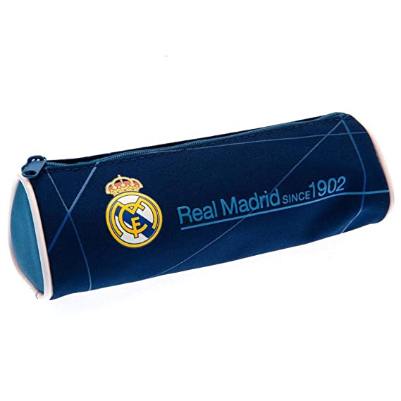 Real Madrid CF - Estuche (Talla Única) (Azul): Amazon.es ...