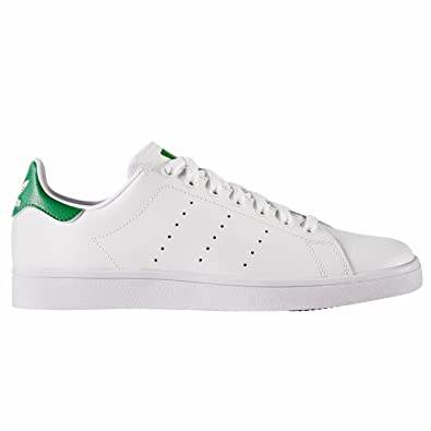 adidas Stan Smith Vulc, Chaussures de Fitness Homme, Blanc (Ftwbla/Verde 000