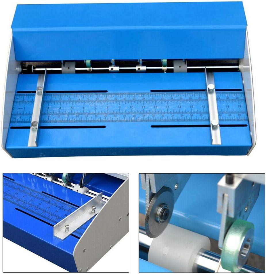 18 46cm 3 en 1 machine se plissante /électrique se pliant de machine de rainurage de machine se plissante de machine pour le papier