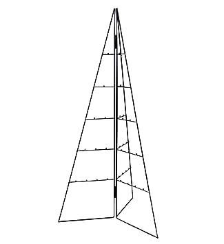 Spetebo Design Metallbaum Fur Zierschmuck 100 Cm Deko Baum Weihnachtsbaum Tannenbaum Schwarz