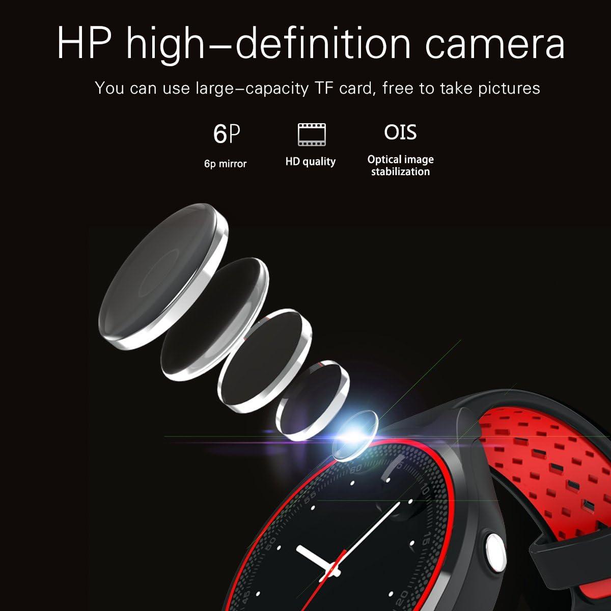 CASETHRONE - Reloj Inteligente Bluetooth 4.0 Smart Watch Pantalla ...