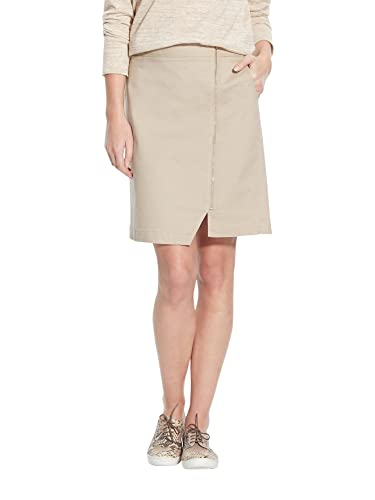 Balsamik – Falda de cremallera, estatura – 1,60 m – Mujer – Size : 44 – Colour : Beis