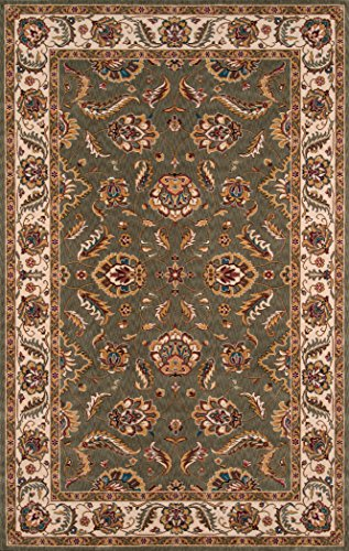 Momeni Rugs PERGAPG-10SAG2030 Persian Garden Collection, 100% New Zealand Wool Traditional Area Rug, 2' x 3', -