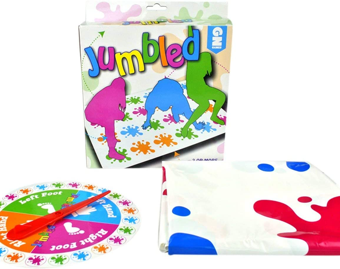 Garciasia Juego de mesa para adultos Body Twist Music Twister Accesorios de juego Fiesta multijugador Juguete interactivo para padres e hijos (Color: multicolor): Amazon.es: Bricolaje y herramientas