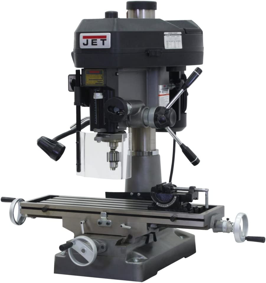JET JMD-18 350018 230-Volt 1 Phase Milling Drilling Machine