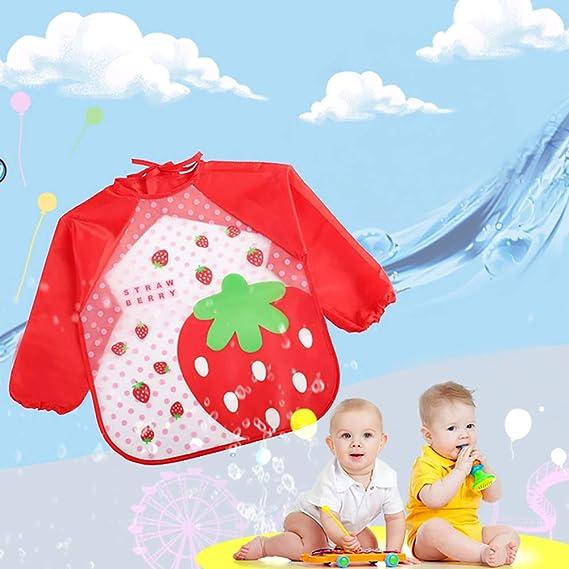 YaptheS 3pcs unisex impermeable infantil del bebé Batas de ...