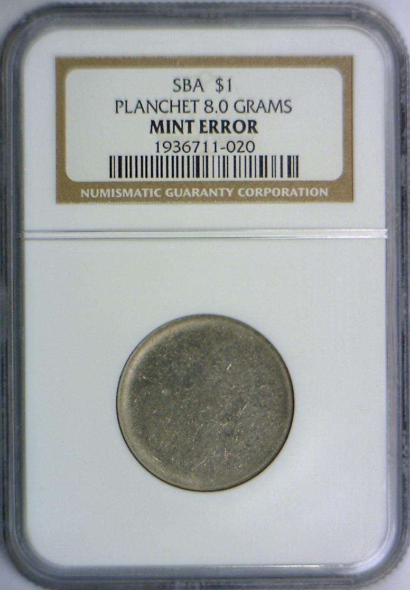 1979 No Mintmark Susan B  Anthony Dollar Genuine NGC at