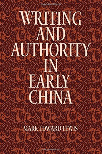 Writing And Authority In Early China  Suny Series In Chinese Philosophy And Culture
