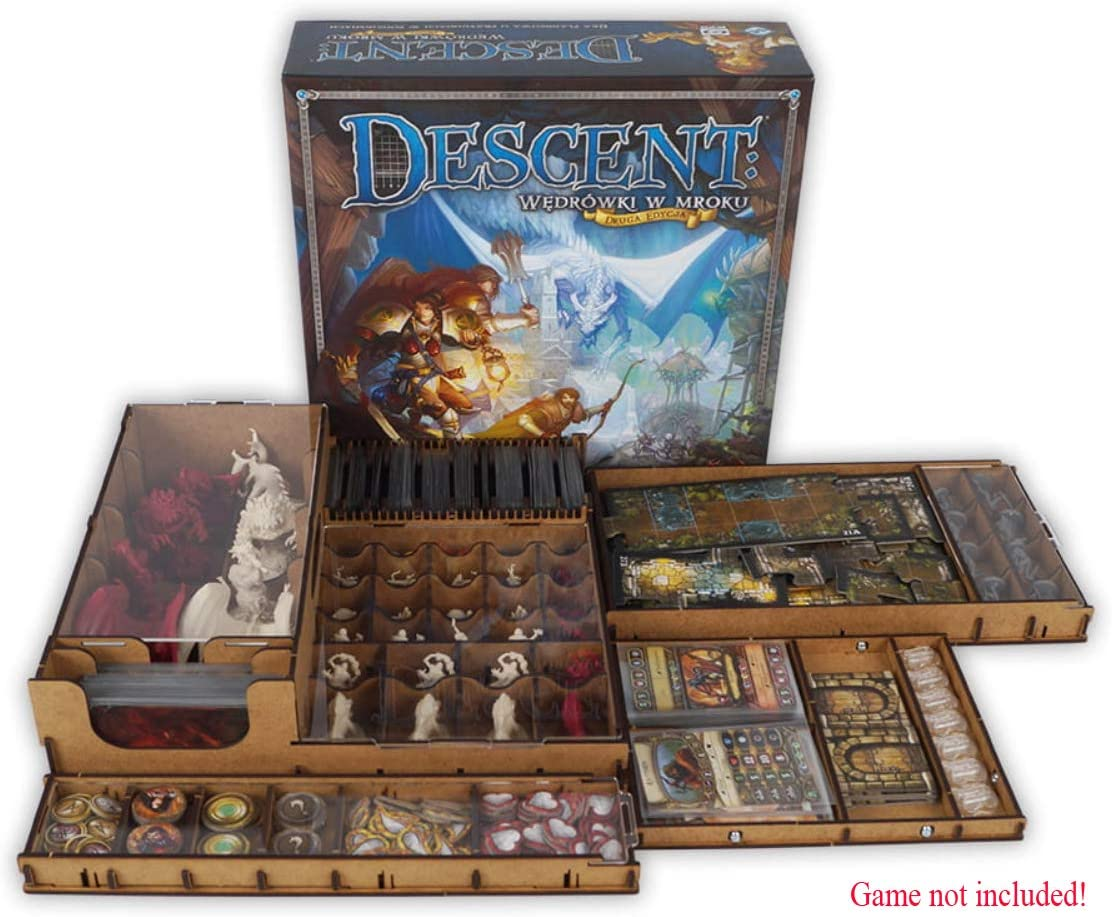 docsmagic.de Organizer Insert for Descent 2nd Edition Box - Encarte: Amazon.es: Juguetes y juegos