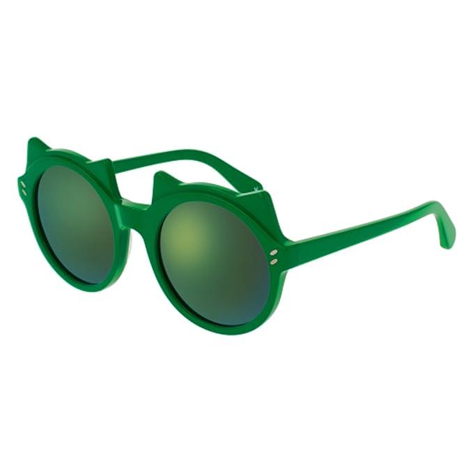 Stella McCartney SK0017S 003 Gafas de Sol, Verde (003-Green ...