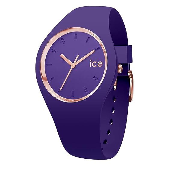 Ice-Watch Reloj Analógico para Mujer de Cuarzo con Correa en Silicona 15696: Amazon.es: Relojes