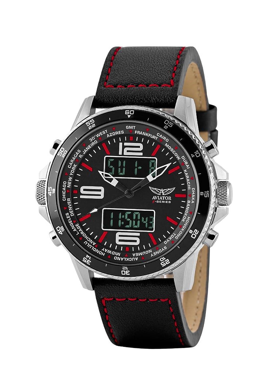 aviator avw1931g254 men s analogue digital combination watch aviator avw1931g253 ana digital watch for men black
