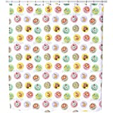 Uneekee Kids Outdoor Fun Shower Curtain: Large Waterproof Luxurious Bathroom Design Woven Fabric