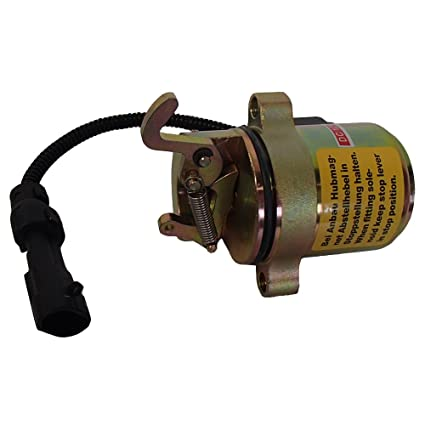 Amazon com : Bobcat 6686715 Fuel Shut Off Solenoid 863 864