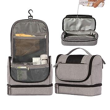 7fddb0f474d9 Amazon.com : Travel Hanging Toiletry Bag - Large Kit Organizer for ...
