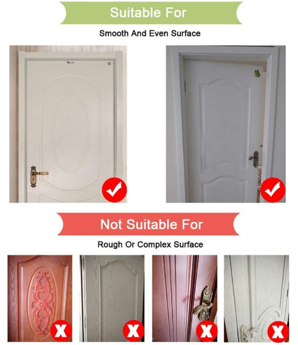 3D Door Sticker Brown Wood Door Sticker 3D Door Mural Self Adhesive Fashion Door Wall Sticker Home Decoration Wallpaper 77X200Cm