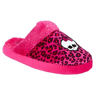 Amazon.com  Monster High Girl Slippers Size Large (2-3)  Shoes ed5604d48