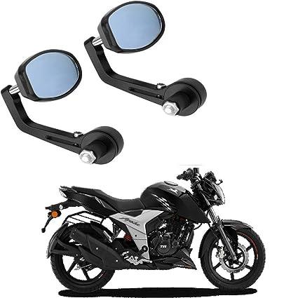 RWT Manual Rear View Mirror, Dual Mirror, Driver Side for