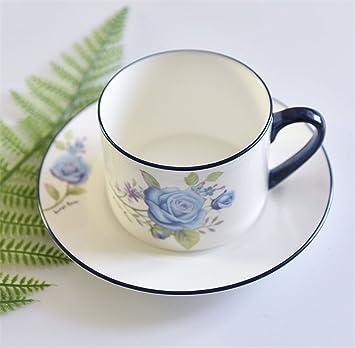 Lucky Clover A Kaffeetasse Set Vergoldung Bone China Keramik
