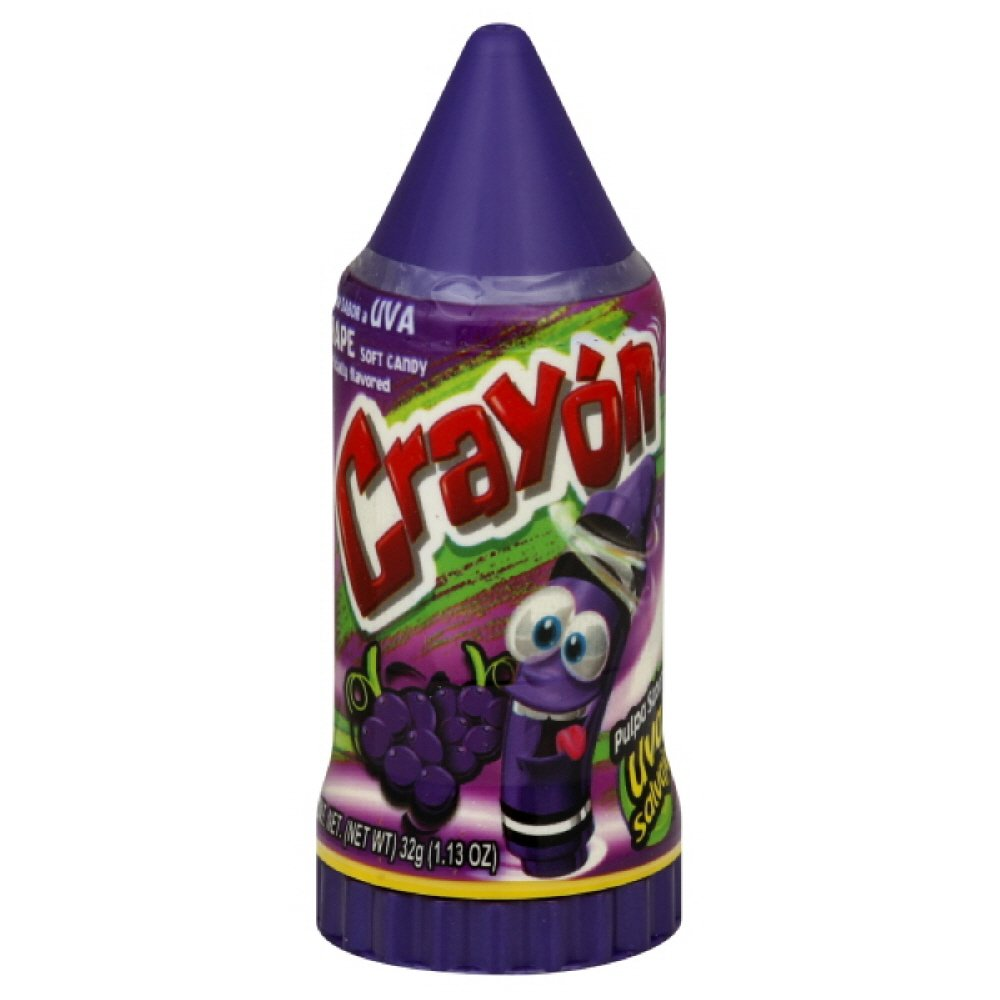 Lorena Candy Crayon Grape, 1.13-Ounce (Pack of 10)
