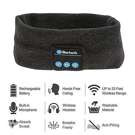 Diadema inalámbrica de Bluetooth, diadema sin hilos de los ...