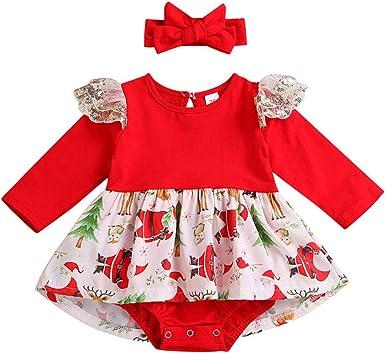 POLP Niño niña Navidad Disfraz Pijamas de Navidad de Fiesta ...