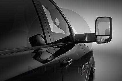 Amazon Com 2015 2016 Dodge Ram Mopar Black Trailer Tow Mirrors