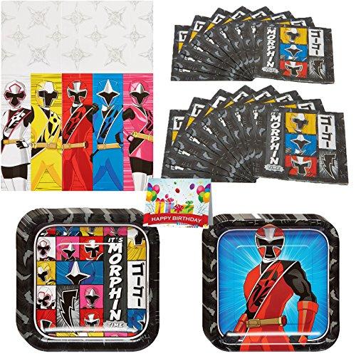 Power Rangers Ninja Steel Party Pack Bundle (Power Rangers Pinata)