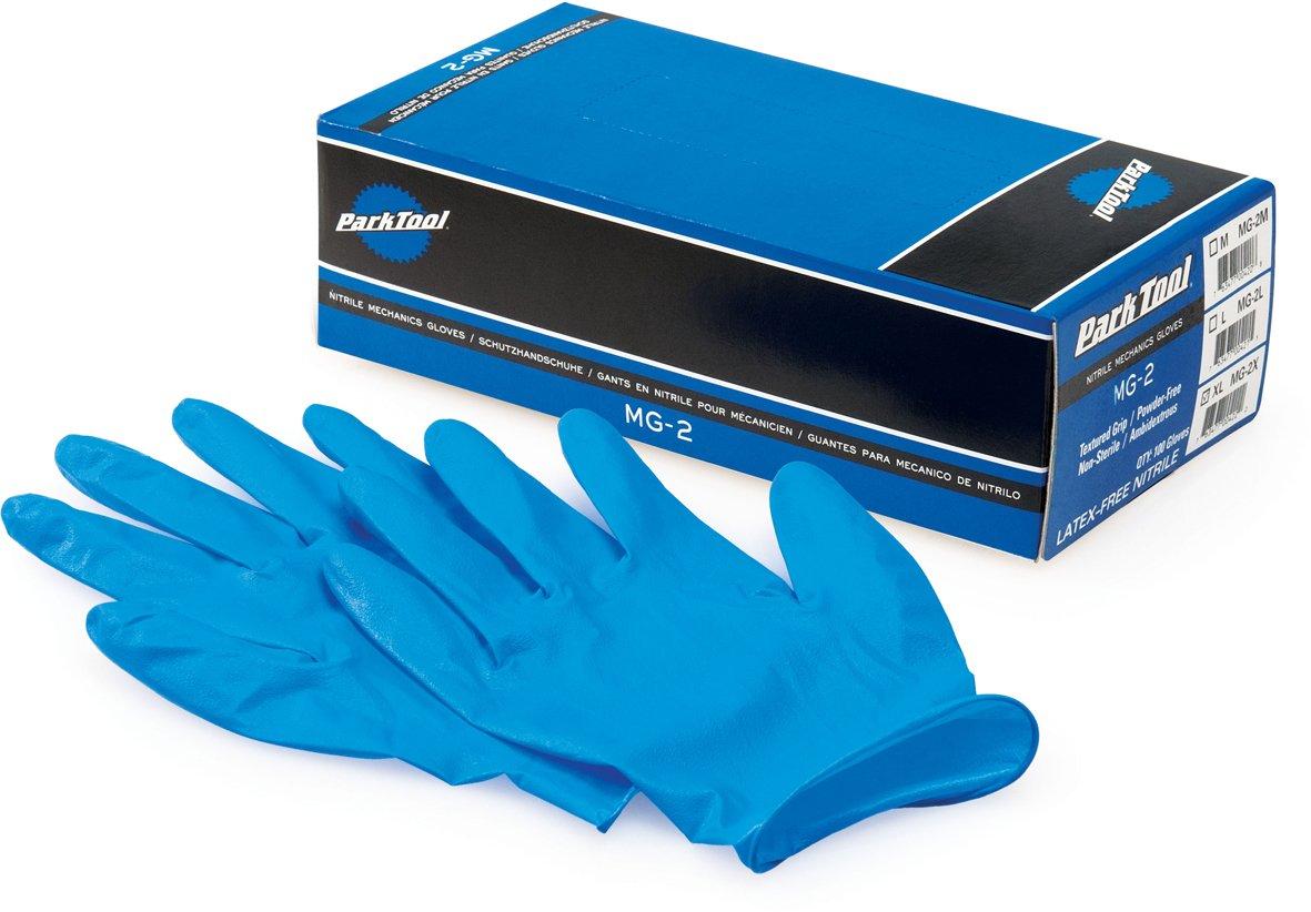 Park Tool MG2L Nitrile Mechanics Gloves Madison