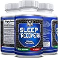 Natural Sleep Recovery pills | Feel more Fit and Well Rested after Sleep | Best natural Recovery supplement for Men and Women (60 capsules)
