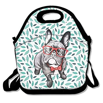 71be9f4f1ab5 Amazon.com: Best Ideas About Dog Art Insulated Lunch Bag - Neoprene ...