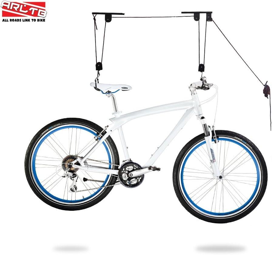 arltb Bike Lift polipasto para garaje bicicleta techo de elevación ...