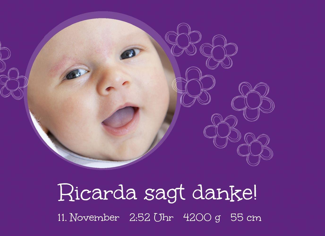 Kartenparadies Danksagung für Geburt Baby Dankeskarte Blüten, hochwertige hochwertige hochwertige Danksagungskarte Baby inklusive Umschläge   100 Karten - (Format  148x105 mm) Farbe  Hellbraun B01N39UFOA   Exquisite (in) Verarbeitung    Erschwinglich    Qualität 9f92d9
