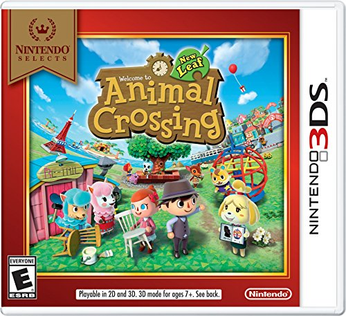 Nintendo Selects: Animal Crossing: New Leaf - Nintendo 3DS (Wild World Crossing Animal Ds Nintendo)