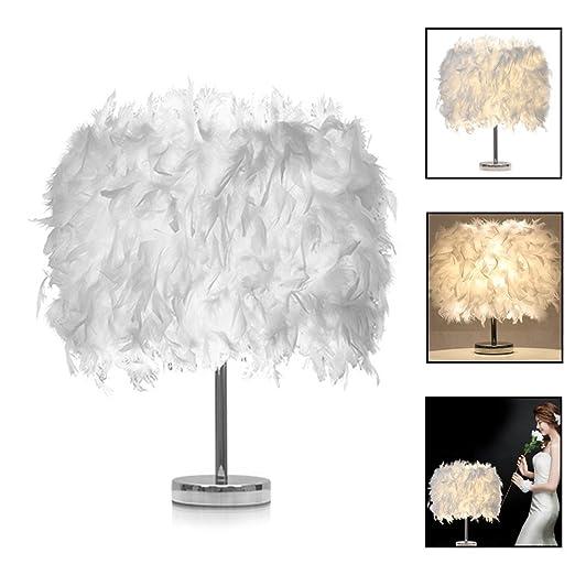 Lámpara de mesa lámpara de techo lámpara a LED lámparas de pluma ...