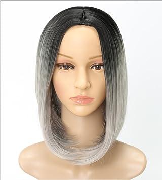 Jl Bobo Kopf Kurze Glatte Haare Perücken Ms Mode