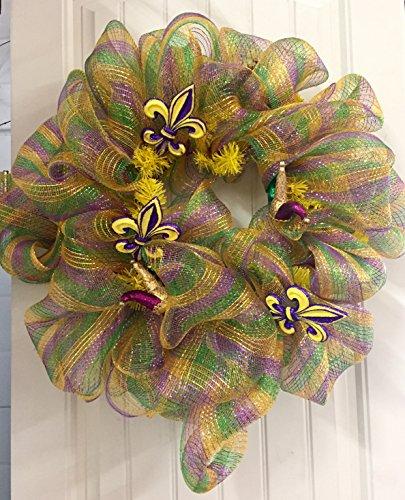 Mardi Gras Wreaths - 8