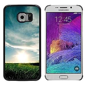 iKiki Tech / Estuche rígido - Nature Beautiful Forrest Green 69 - Samsung Galaxy S6 EDGE SM-G925