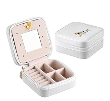 Amazoncom Small Travel Jewelry Box Bag Yangmall Mini Jewelry