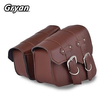 Amazon.com: SOMITI   Leather & Saddle Bags   Brown ...